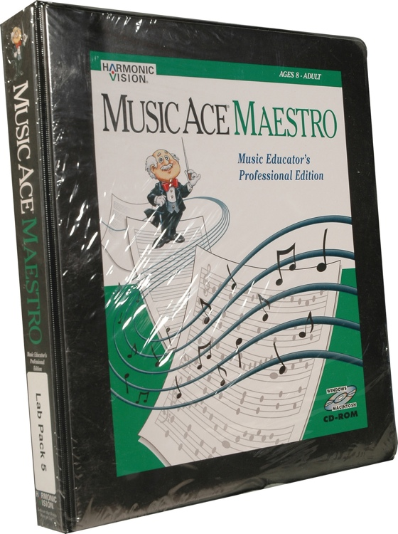 Harmonic Vision Music Ace Maestro - 5 Seat Lab Pack image 1
