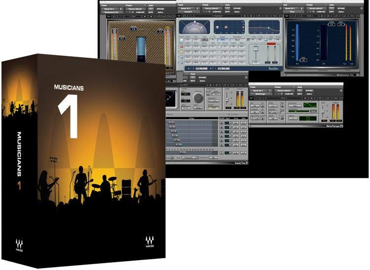 Waves Musicians 1 Plug-in Bundle - Academic Version image 1