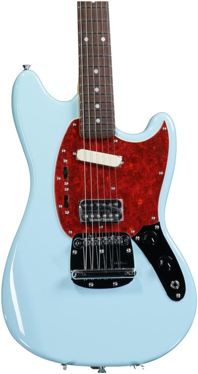Fender Kurt Cobain Mustang - Sonic Blue image 1