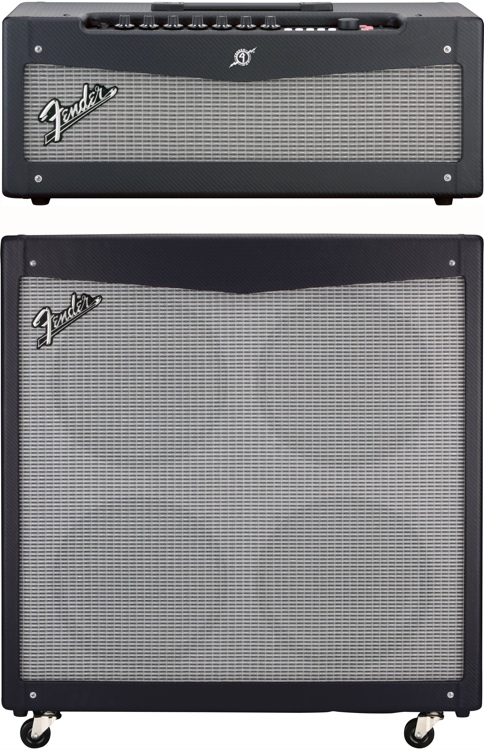 Fender Mustang V Head and 4x12 Cabinet image 1