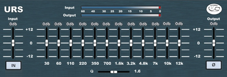 URS Classic Consold N12 Series EQ Plug-in - Native image 1