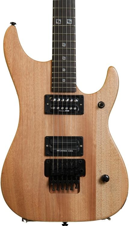 Washburn Nuno Bettencourt N2 Tattoo Electric Guitar - Natural Matte, Tattoo image 1