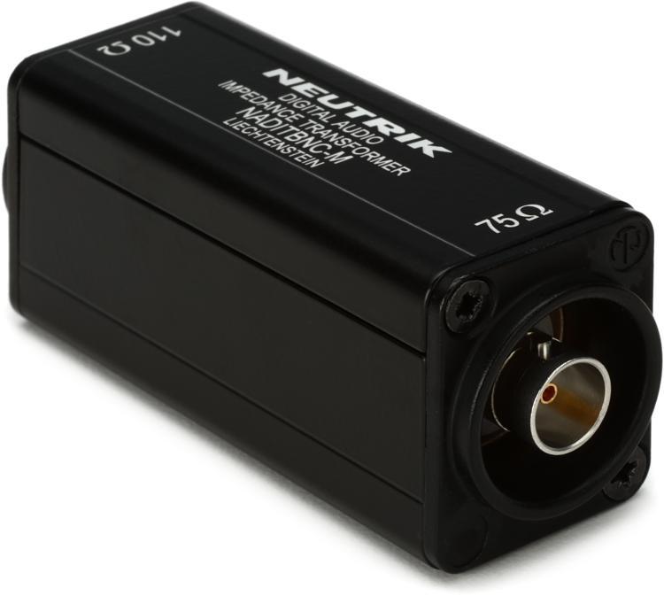 Neutrik NADITBNC-M - BNC to XLR AES/EBU Converter image 1