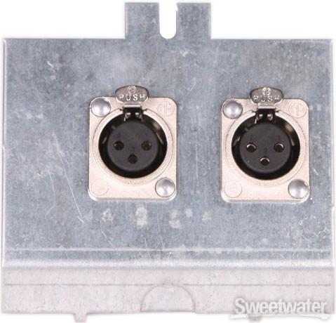Pro Co FP2 Series Floor Plate - (2) XLR F image 1