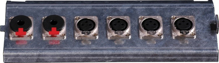 Pro Co FP6 Series Floor Plate - (4) XLR F + (2) TRS F image 1