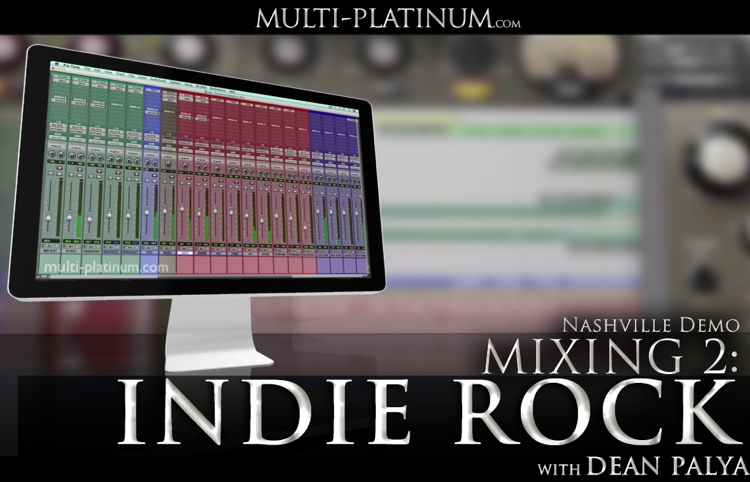 Multi Platinum Nashville Demo Mixing Indie Rock Interactive Course image 1