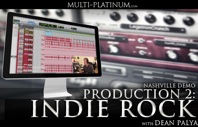 Multi Platinum Nashville Demo Production Indie Rock Interactive Course image 1