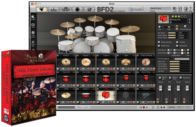 Sonic Reality Neil Peart Drums Volume 1: The Kit image 1