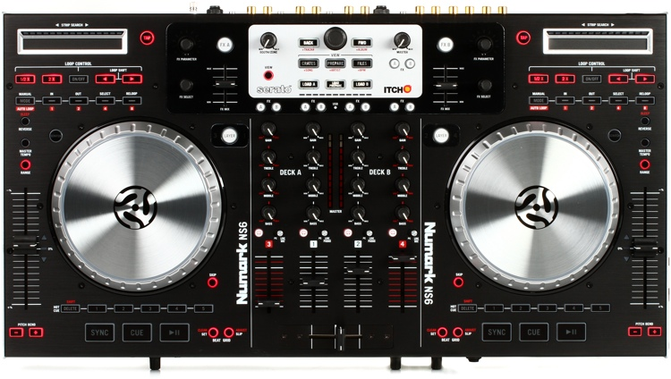 Numark NS6 4-channel DJ Mixer and Controller image 1