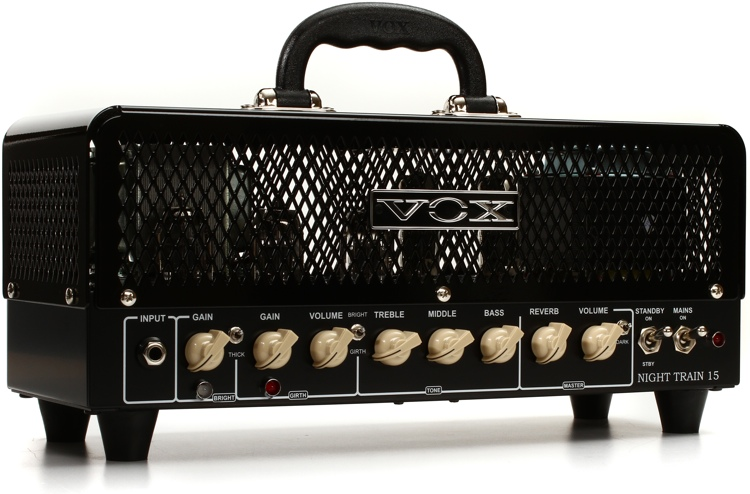 vox night train nt15h g2 15 watt tube head sweetwater. Black Bedroom Furniture Sets. Home Design Ideas