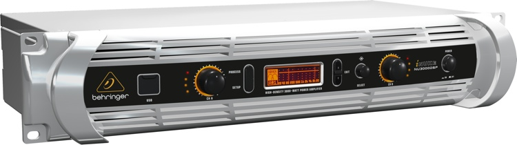Behringer iNUKE NU3000DSP Power Amplifier with DSP image 1
