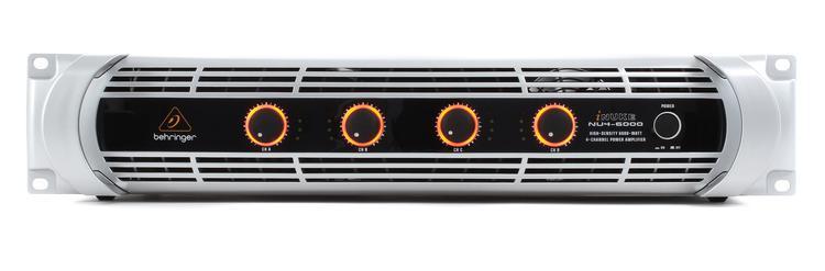 Behringer iNuke NU4-6000 Power Amplifier image 1