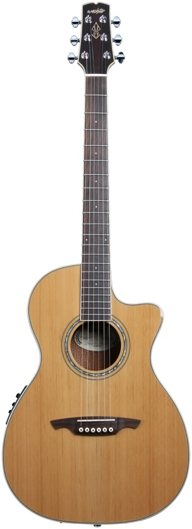 Wechter Guitars Nashville-tuned Special Elite Cutaway - Cedar C/A with Fishman PreSys+ image 1