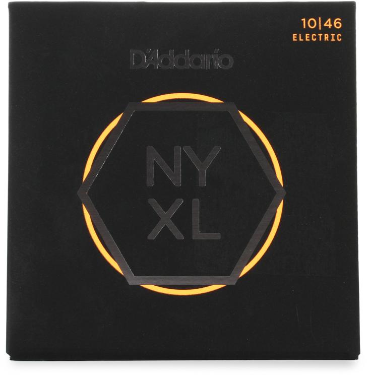 D\'Addario NYXL1046 Nickel Wound Electric Strings .010-.046 Regular Light image 1