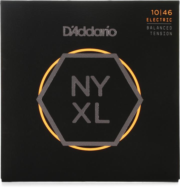D\'Addario NYXL1046BT Nickel Wound Electric Strings .010-.046 Regular Light Balanced Tension image 1