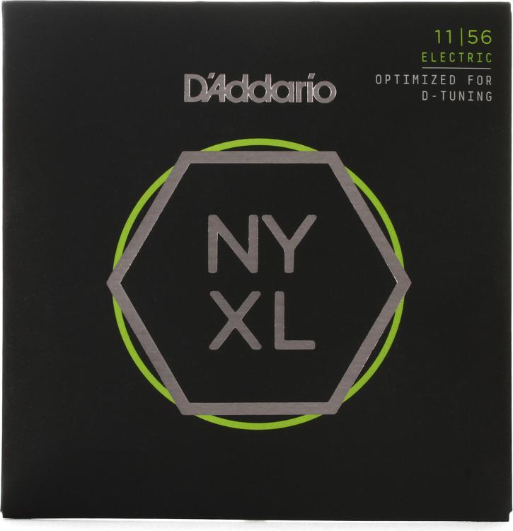 D\'Addario NYXL1156 Nickel Wound Electric Strings .011-.056 Medium Top/Extra-Heavy Bottom image 1