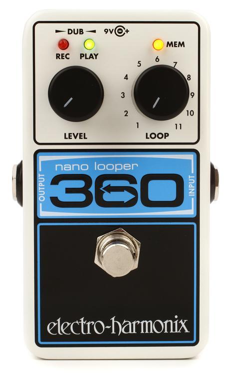 Ehx 360 Looper : electro harmonix nano looper 360 pedal looper sweetwater ~ Hamham.info Haus und Dekorationen