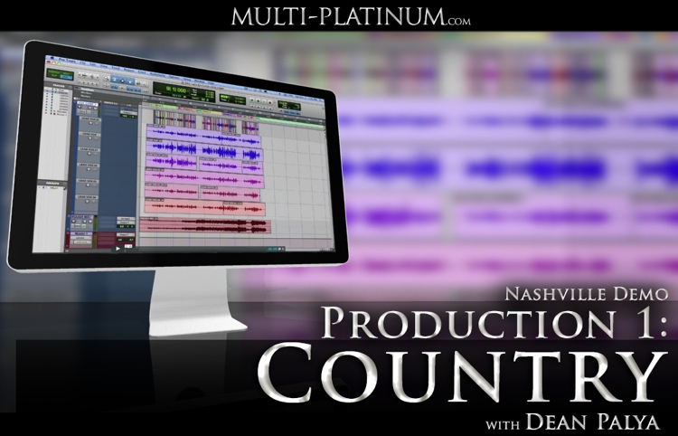 Multi Platinum Nashville Demo Production 1: Country Interactive Course image 1