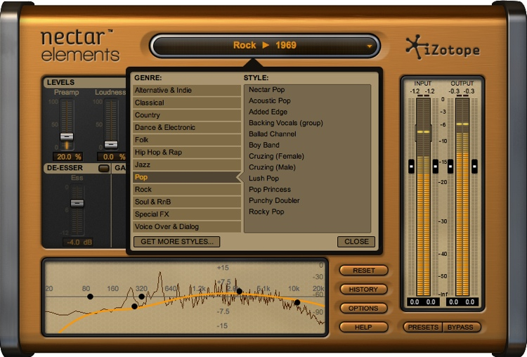 iZotope Nectar Elements Vocal Processing Plug-in - Academic Version image 1
