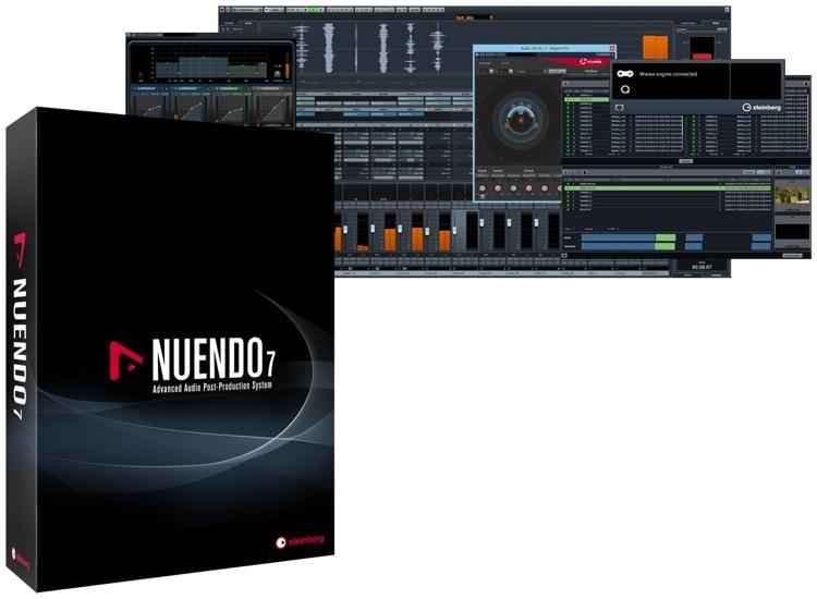 Steinberg Nuendo 7 Upgrade from Nuendo 6.5 image 1