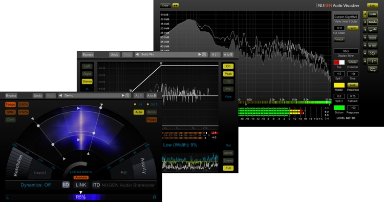 NUGEN Audio Mix Tools Plug-in Bundle image 1