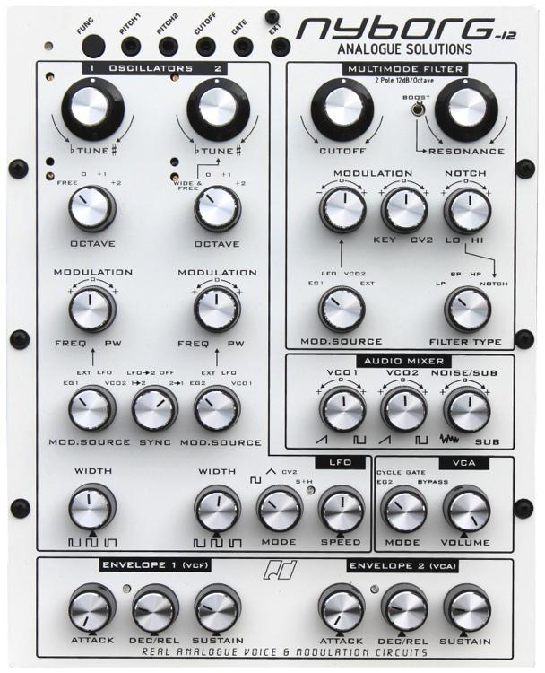 Analogue Solutions Nyborg 12 Analog Synthesizer image 1