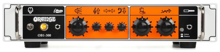 Orange OB1-300 300W Single Channel Solid State Bass Head image 1