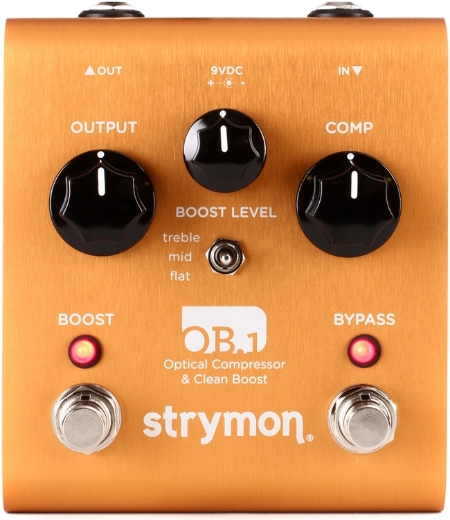 Strymon OB.1 Optical Compressor & Clean Boost Pedal image 1