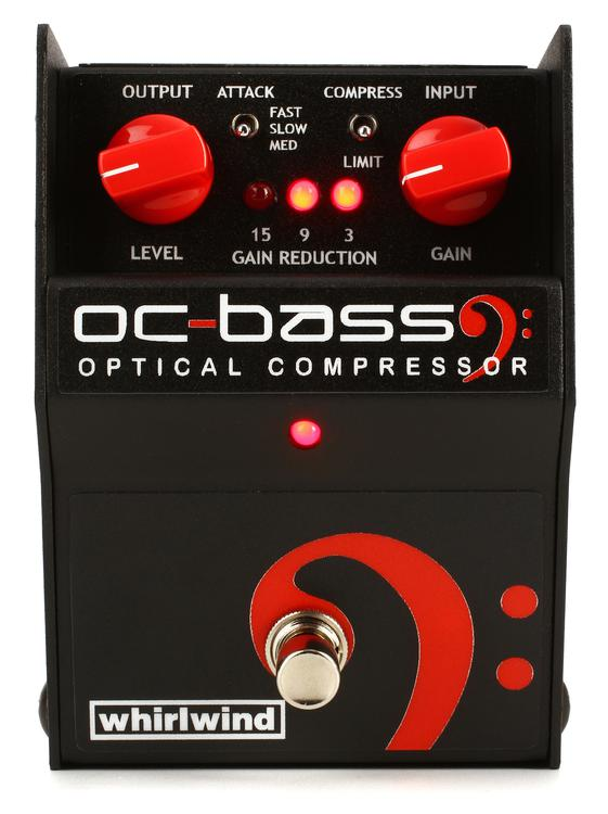 Whirlwind OC Bass Optical Compressor Pedal image 1