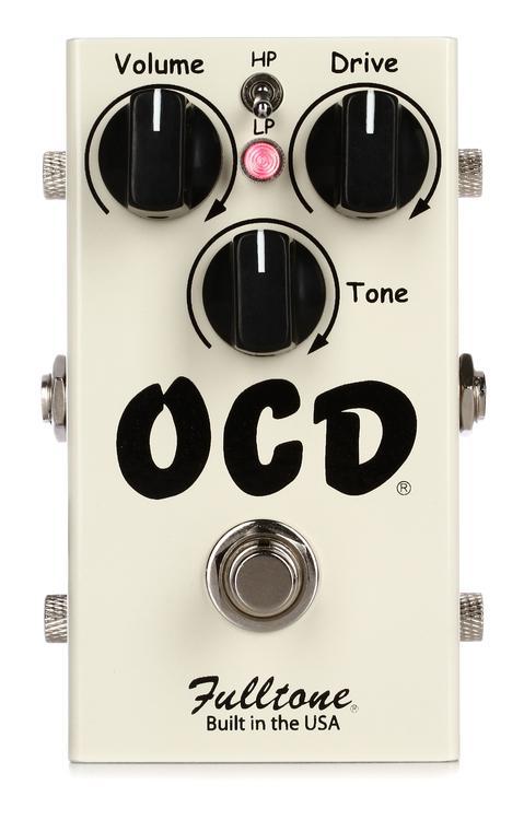 Fulltone OCD Obsessive Compulsive Drive Pedal image 1