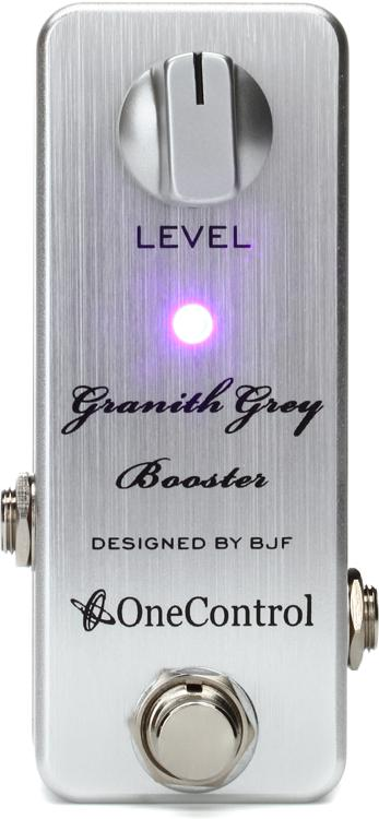 One Control Granith Grey Booster 15dB Clean Boost Pedal image 1