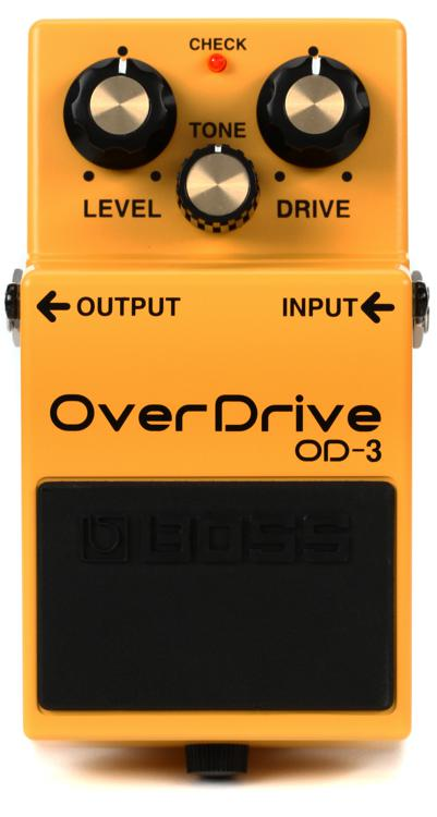 Boss OD-3 Overdrive Pedal image 1