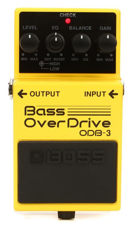 Boss ODB-3 Bass Overdrive Pedal image 1