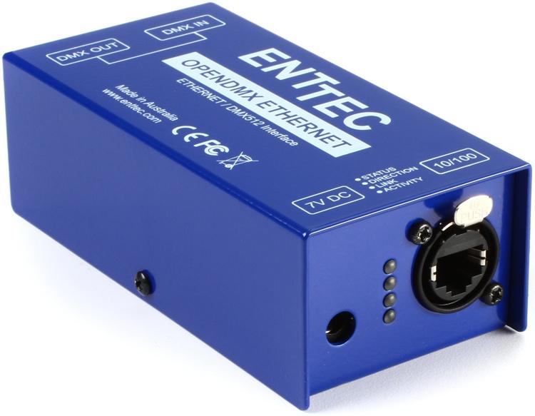 ENTTEC ODE 1-Port Open DMX Ethernet Gateway image 1