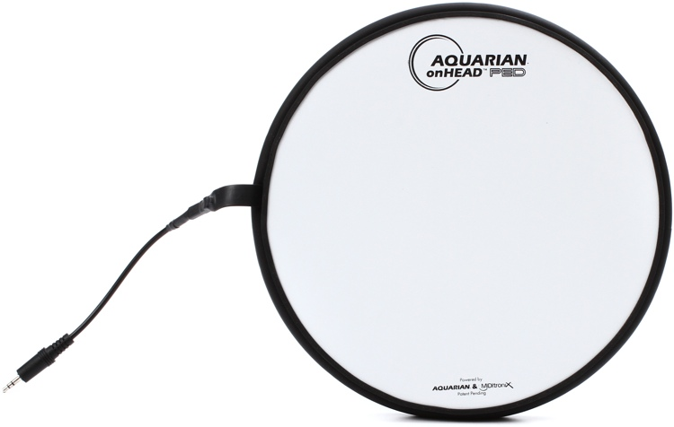 Aquarian Drumheads onHEAD PED Portable Electronic Drumhead - 10