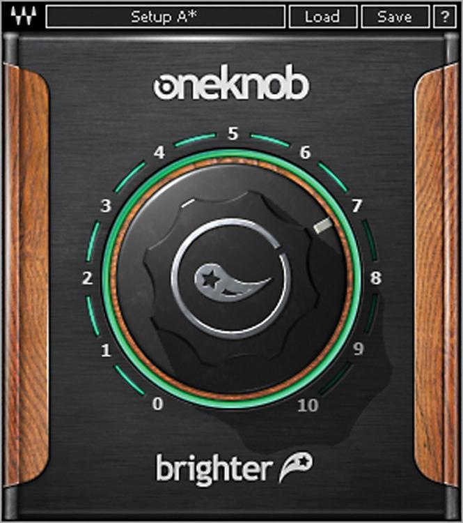 Waves OneKnob Brighter Plug-in image 1