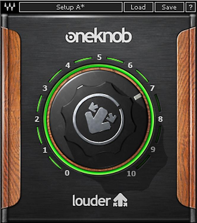 Waves OneKnob Louder Plug-in image 1