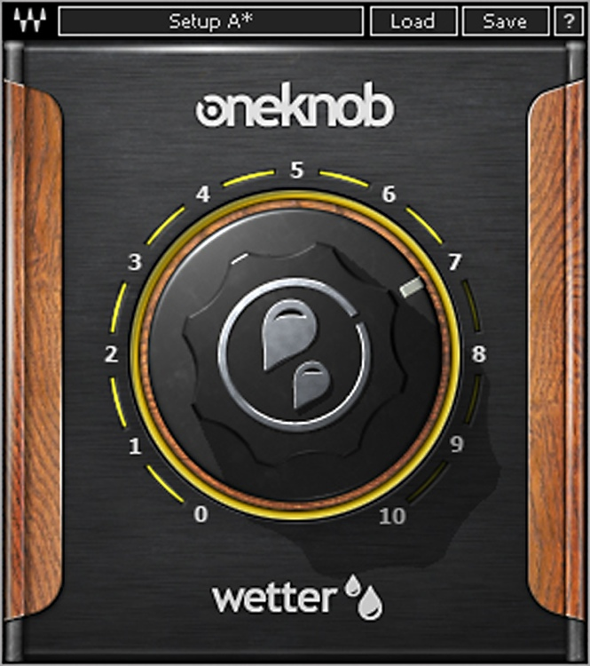 Waves OneKnob Wetter Plug-in image 1