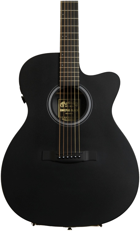Martin OMCPA5 - Black image 1