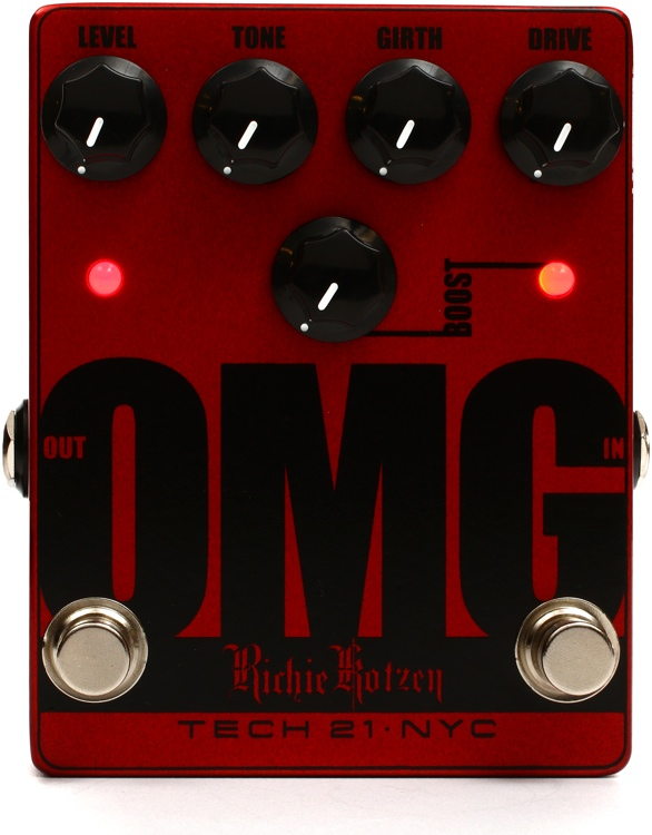 Tech 21 OMG Richie Kotzen Signature Overdrive Pedal image 1