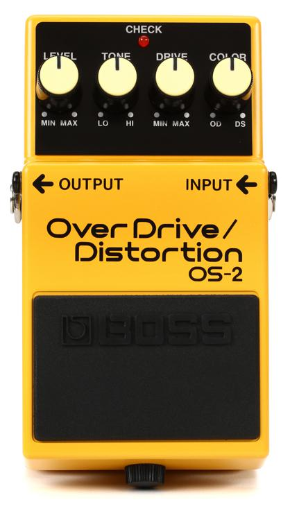 Boss OS-2 Overdrive / Distortion Pedal image 1