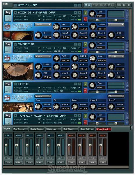 Ocean Way Drums Gold Edition image 1