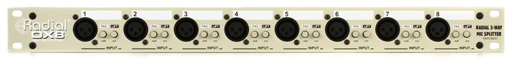 Radial OX8-r 8-channel Microphone Splitter image 1
