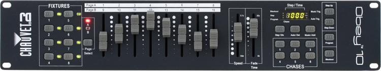 Chauvet DJ Obey 10 Rackmount 128-Ch DMX Controller image 1