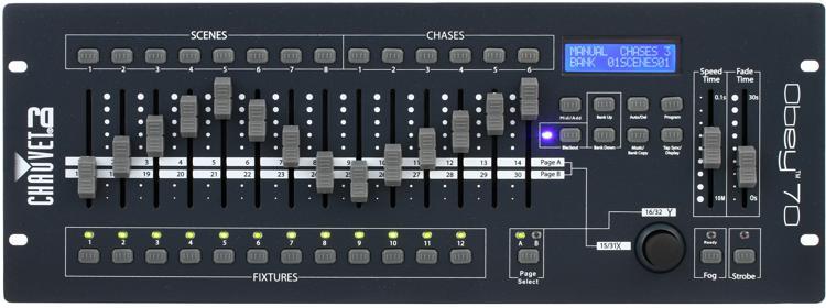 Chauvet DJ Obey 70 384-Ch DMX Lighting Controller image 1