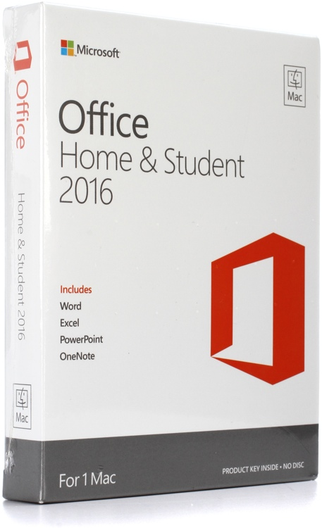 microsoft office home and student 2016 for mac sweetwater. Black Bedroom Furniture Sets. Home Design Ideas