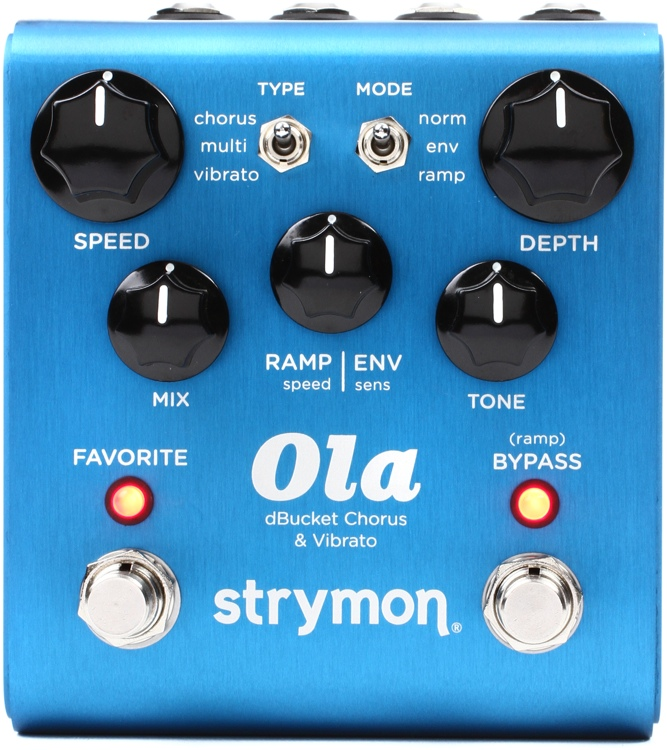 Strymon Ola dBucket Chorus and Vibrato Pedal image 1