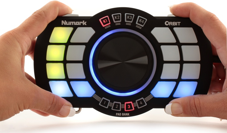 Numark Orbit Wireless MIDI Performance Controller image 1