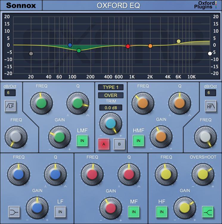 Sonnox Oxford EQ Plug-in - Native image 1