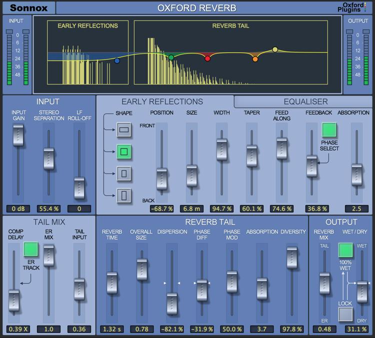 Sonnox Oxford Reverb Plug-in - Native image 1